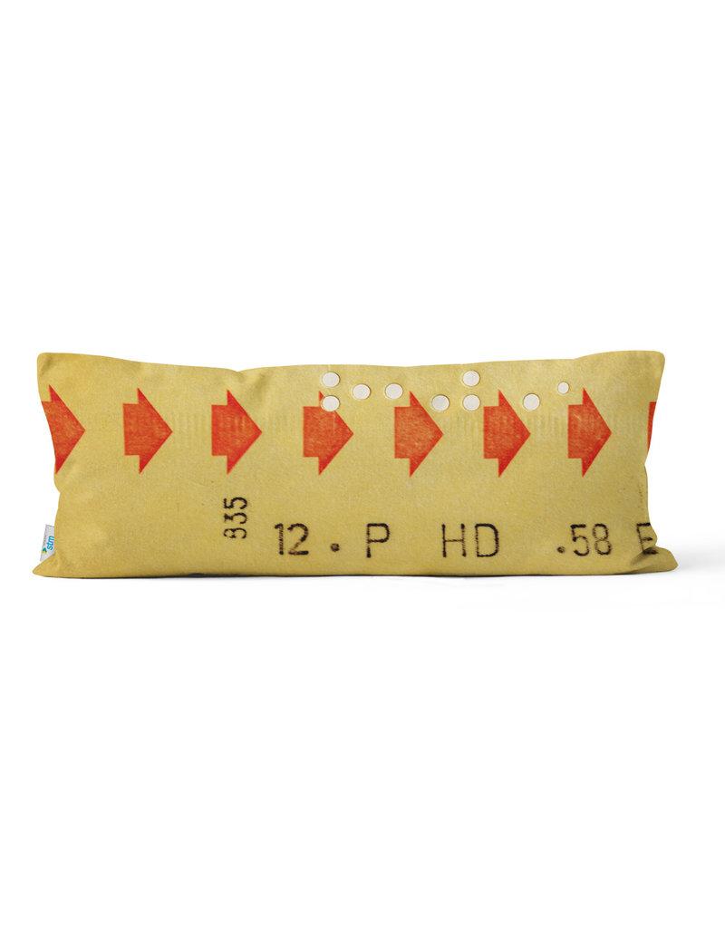 """COUSSIN - Billet de correspondance jaune  10"""" X 24"""""""