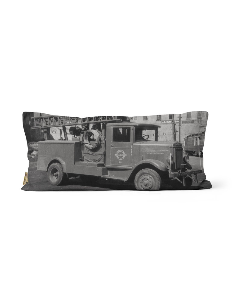"""PILLOW - Montreal Tramways Co 10"""" x 20"""""""