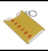 Porte cartes OPUS - Billet de correspondance jaune