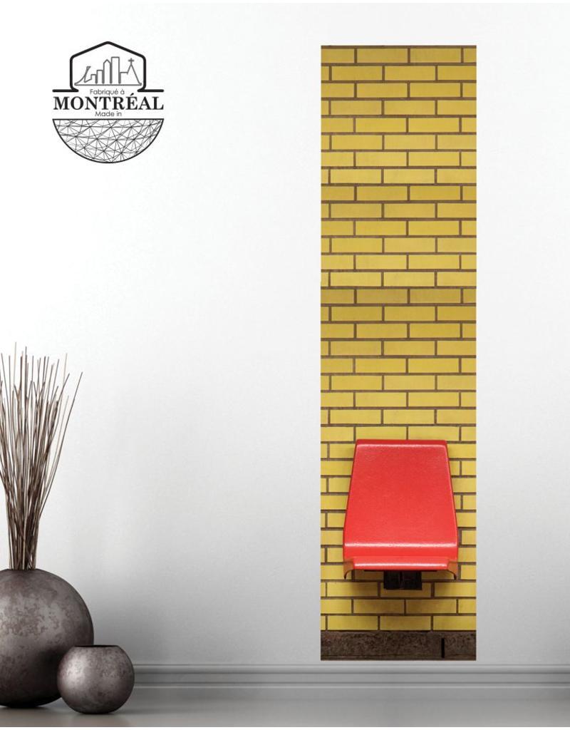 Adhésif - Murale Joliette 2' x 8'