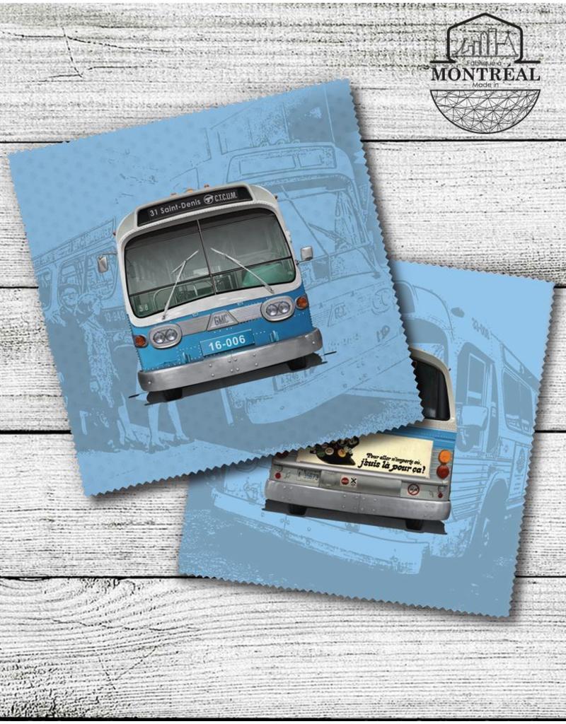 Lens cloth - New Look blue bus