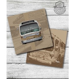 Lens cloth - New Look brown bus