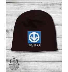 Tuque - Logo du métro
