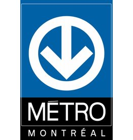 Post card - Metro logo