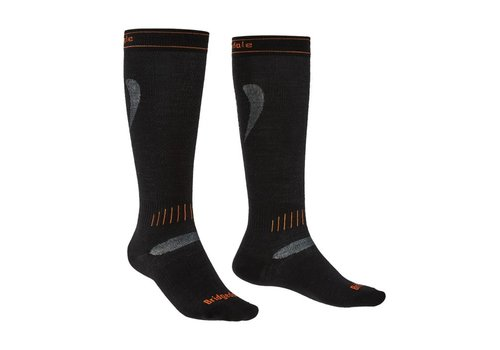BRIDGEDALE BRIDGEDALE SKI ULTRA FIT BLACK/ORANGE-009