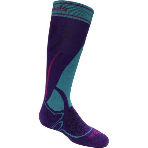 Bridgedale Bridgedale Ski Junior Racer (20/21) 063 Purple/Turquoise *Final Sale*