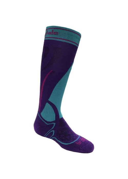 BRIDGEDALE BRIDGEDALE SKI JUNIOR RACER PURPLE/TURQUOISE-063