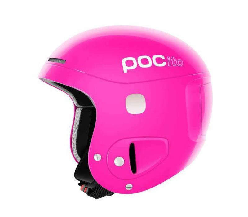 POC POCITO SKULL FLUORESCENT PINK-85   ADJUSTABLE