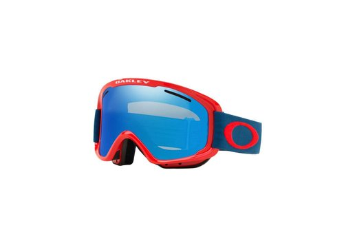 OAKLEY OAKLEY O-FRAME 2.0 XM POSEIDON RED W/BLACK ICE IRIDIUM & PERSIMMON
