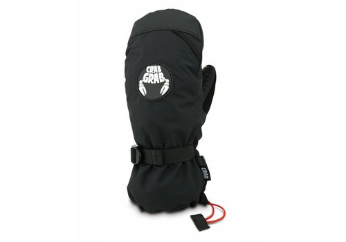 CRAB GRAB CRAB GRAB CINCH MITTEN - BLACK