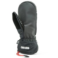 CRAB GRAB CINCH MITTEN - BLACK