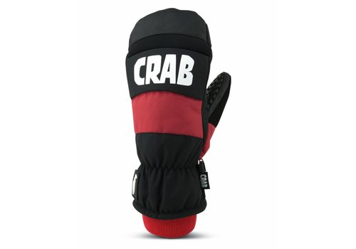 CRAB GRAB CRAB GRAB PUNCH MITTEN - RED