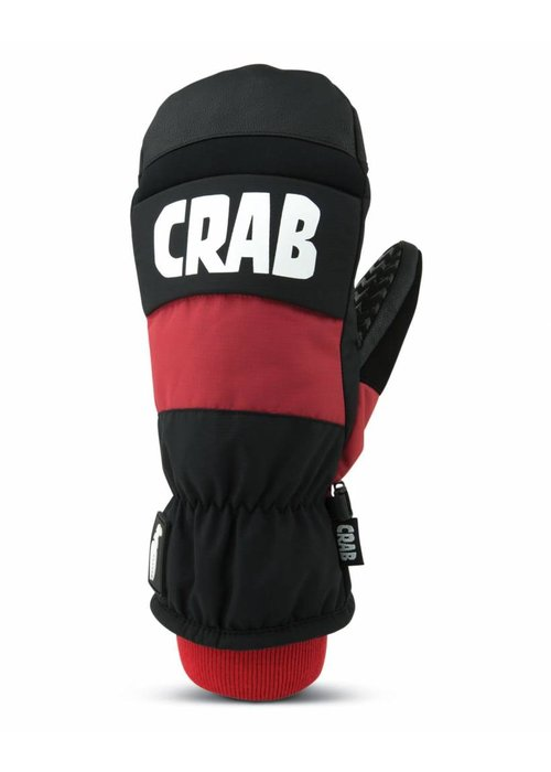 CRAB GRAB CRAB GRAB PUNCH MITTEN - RED