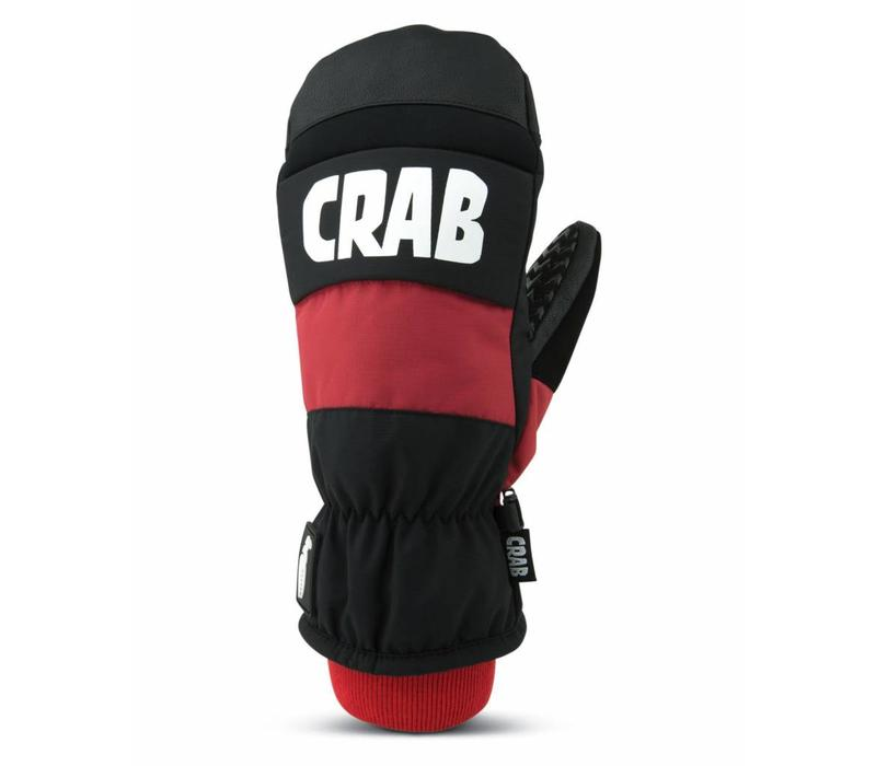 CRAB GRAB PUNCH MITTEN - RED