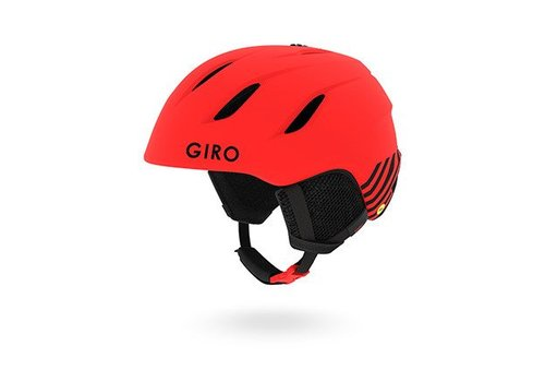 GIRO GIRO NINE JR MATTE BRT RED ZOOM