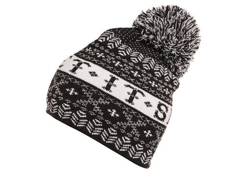 KRIMSON KLOVER KRIMSON KLOVER LET IT SNOW BEANIE BLACK 001