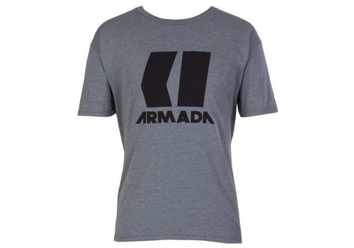 ARMADA ARMADA ICON TEE-HEATHER GREY