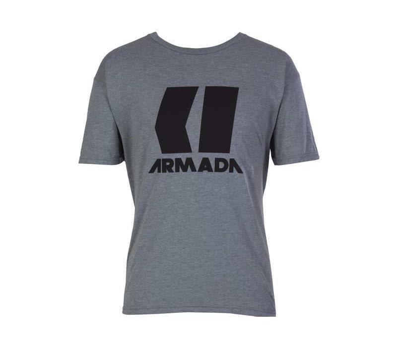 ARMADA ICON TEE-HEATHER GREY