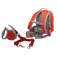 MDXONE Snowboard & Ski Harness Bag with Retractable Leash - Red