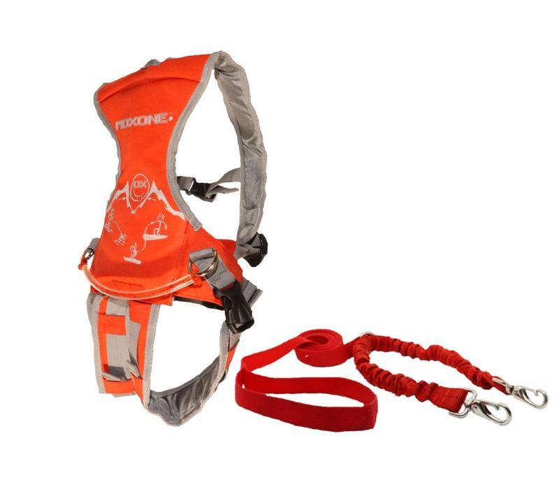 MDXONE Ski Harness - Red