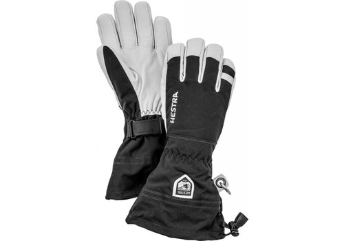 HESTRA HESTRA ARMY LEATHER HELI SKI - 5 FINGER BLACK-100
