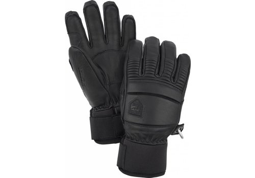 HESTRA HESTRA LEATHER FALL LINE - 5 FINGER BLACK-100