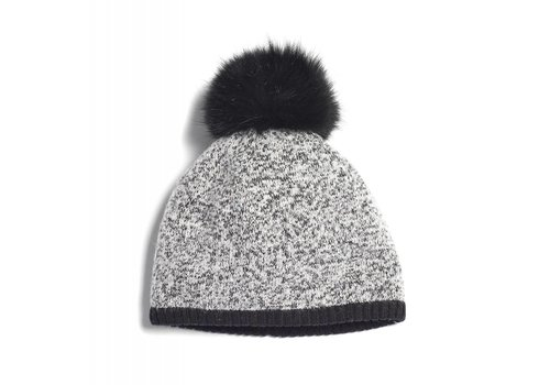 BRUME BRUME SOUTH TWIN MOUNTAIN HAT -GREY MIX/BLACK-400