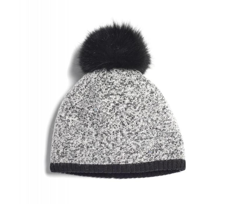 BRUME SOUTH TWIN MOUNTAIN HAT -GREY MIX/BLACK-400