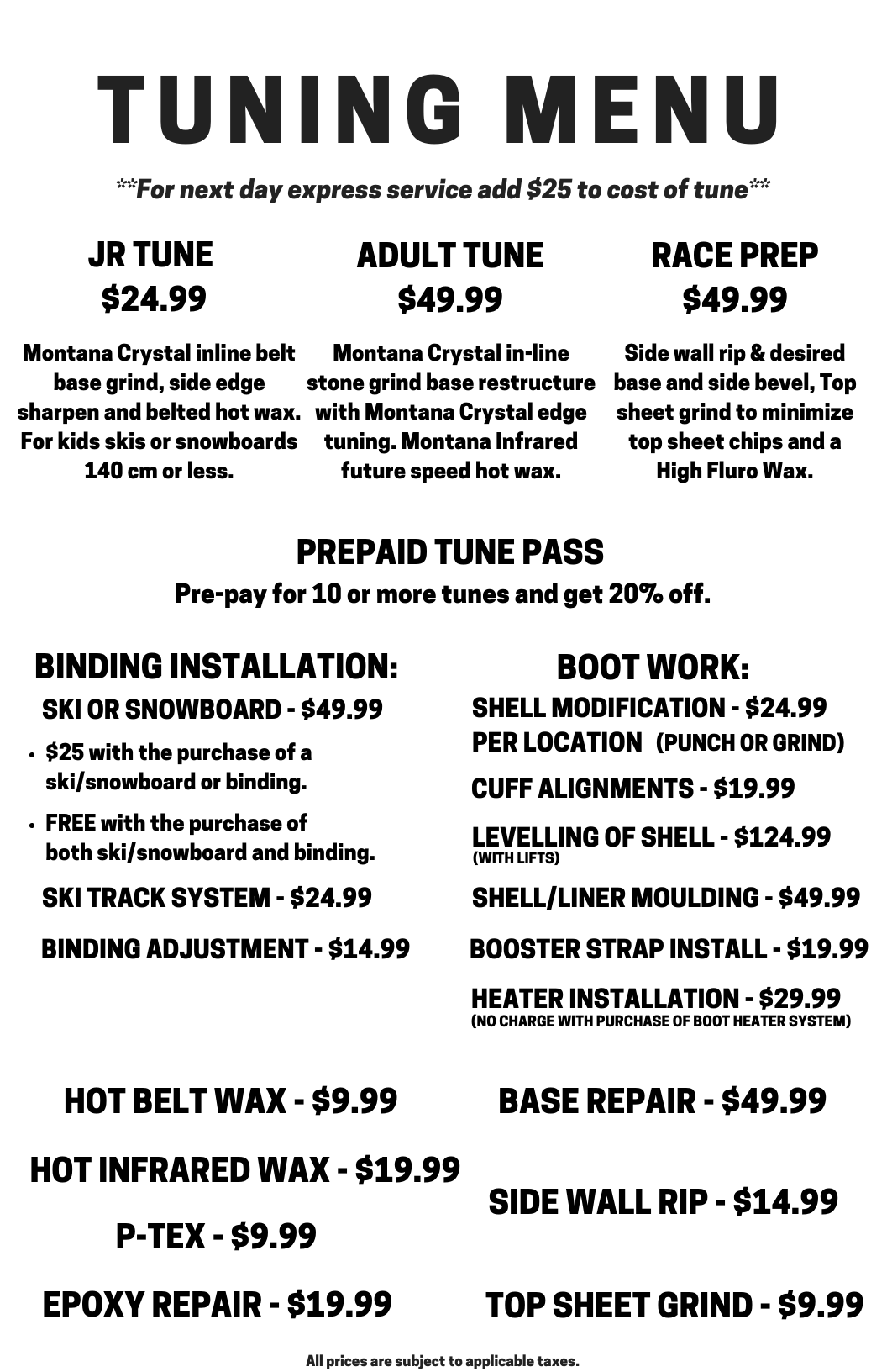 427675120e9 These top of the line machines paired with our expert tuning staff can  produce an amazing tune up no matter what your needs are.