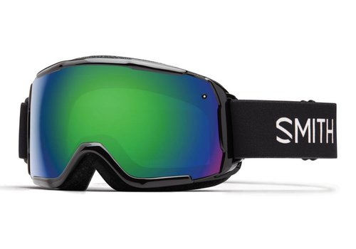 SMITH SMITH GROM BLACK -GREEN SOL-X MIRROR