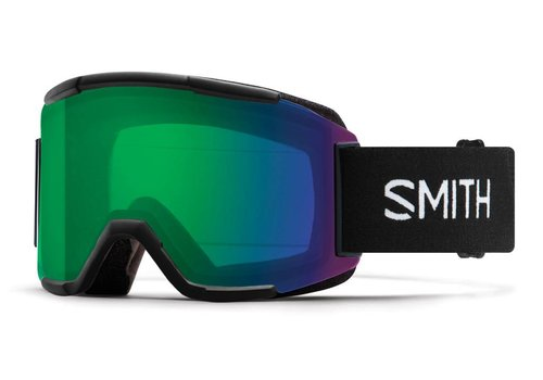 SMITH SMITH SQUAD BLACK -CHROMAPOP EVERYDAY GREEN MIRROR+YELLOW
