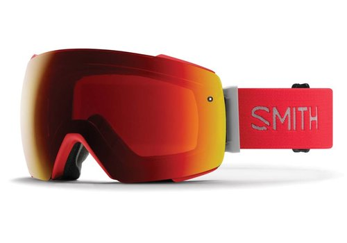 SMITH SMITH IO MAG RISE -CHROMAPOP SUN RED MIRROR+CHROMAPOP STORM ROSE FLASH