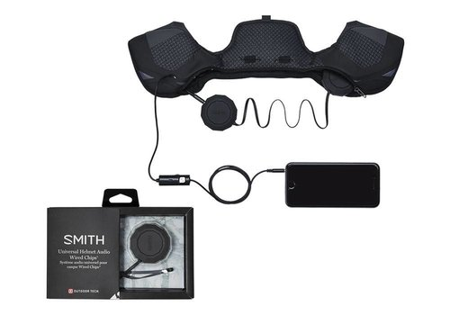 SMITH SMITH OUTDOOR TECH WIRED AUDIO CHIPS BLACK