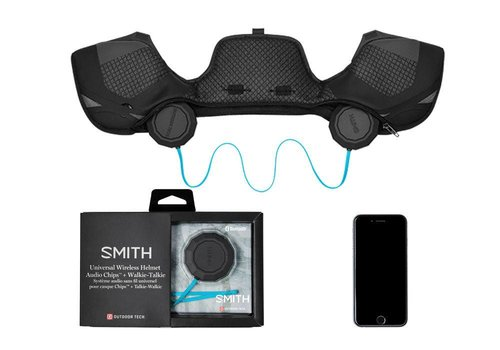 SMITH SMITH OUTDOOR TECH WIRELESS AUDIO CHIPS BLACK
