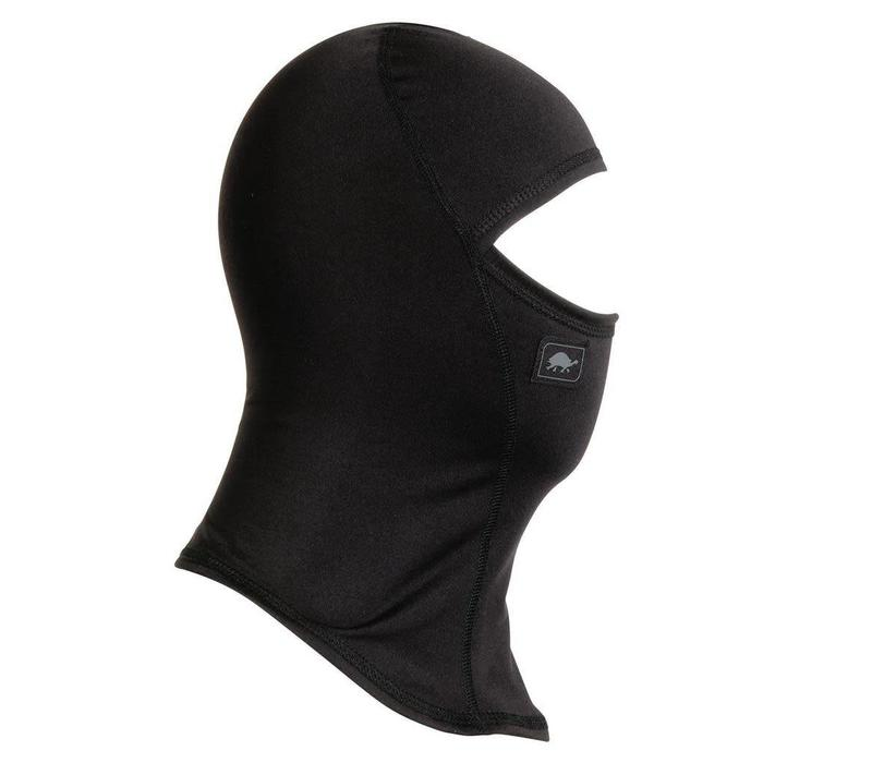 TURTLE FUR KIDS COMFORT SHELL: NINJA BALACLAVA 101 BLACK