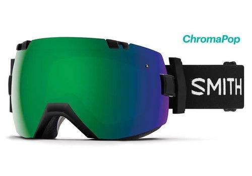 SMITH SMITH I/OX BLACK-ChromaPop Sun Green Mirror+CHROMAPOP STORM ROSE FLASH