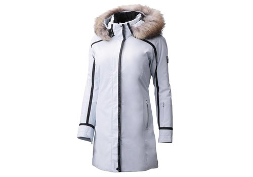 DESCENTE DESCENTE RUBY JACKET MYST(92) WITH FUR
