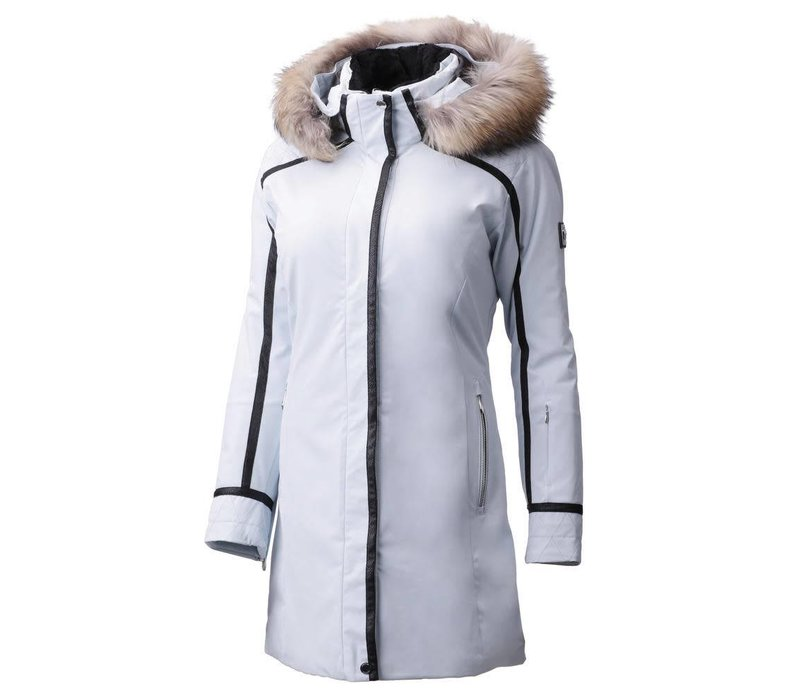DESCENTE RUBY JACKET MYST(92) WITH FUR