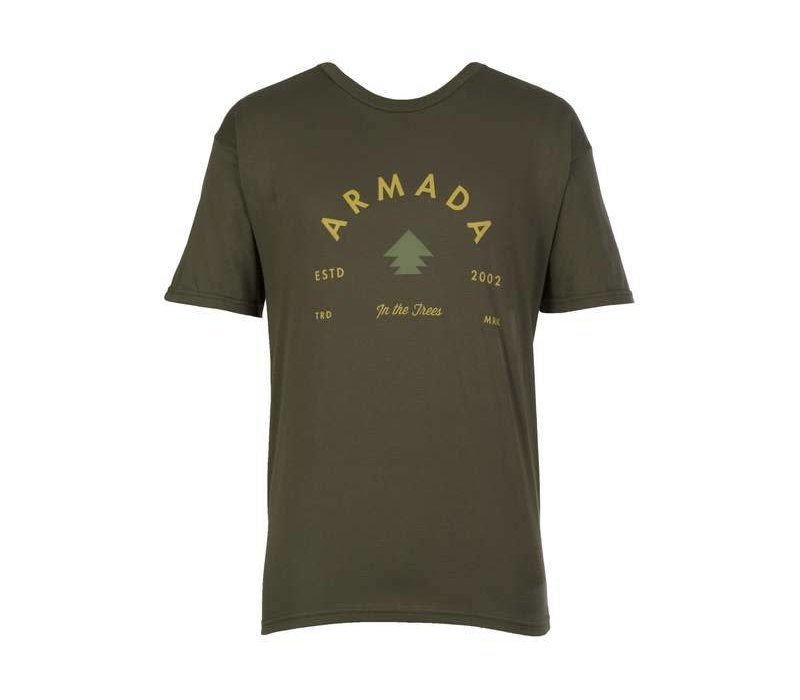 ARMADA IN THE TREES TEE-FOREST GREEN