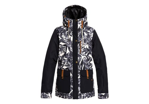 ROXY ROXY ANDIE JKT (19/20) HAWAIIAN PALM LEAF-TFN1
