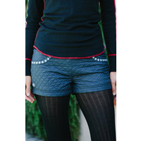 Alp-N-Rock Ladies Themountain :Shorts -Heather Black (15/16)