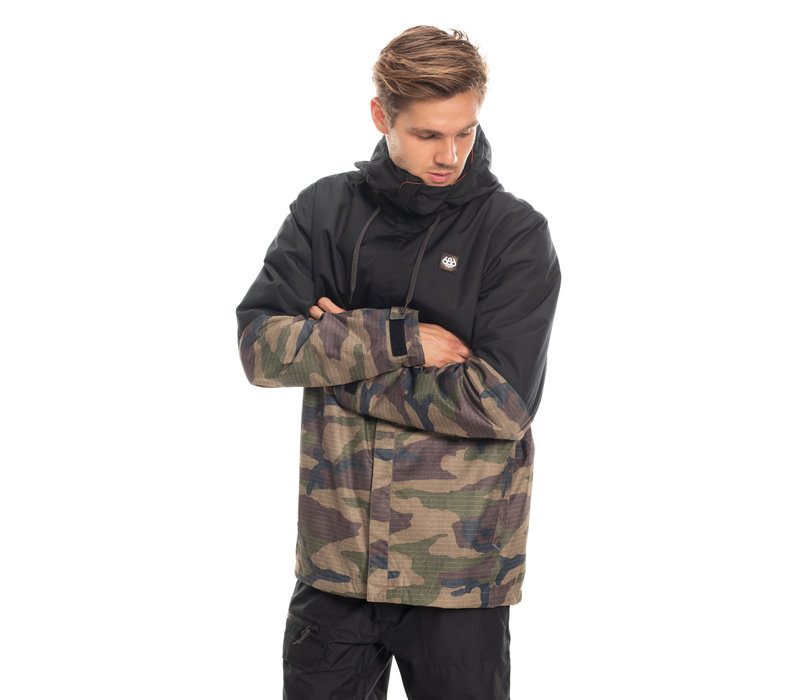 686 MNS FOUNDATION INSULATED JKT (19/20) DARK CAMO COLORBLOCK-CAMO