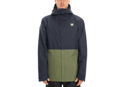 686 686 MNS FOUNDATION INSULATED JKT (19/20) NAVY COLORBLOCK-NVY