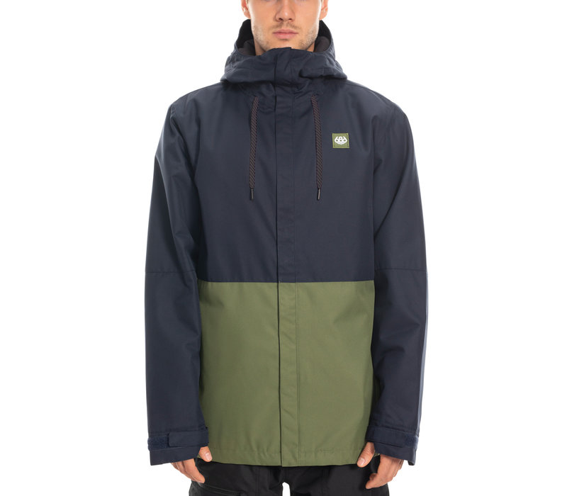 686 MNS FOUNDATION INSULATED JKT (19/20) NAVY COLORBLOCK-NVY