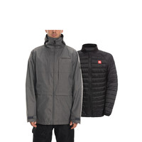 686 MNS SMARTY 3-IN-1 FORM JACKET (19/20) GREY MELANGE-GRY