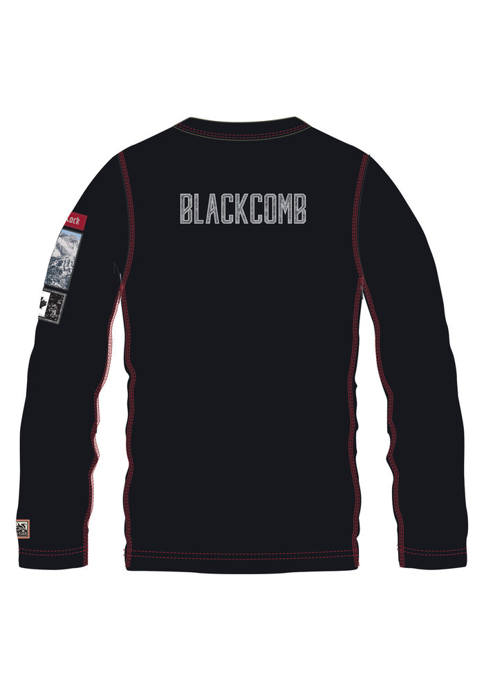 ALP-N-ROCK BLACKCOMB MEN'S CREW SHIRT (19/20) BLACK