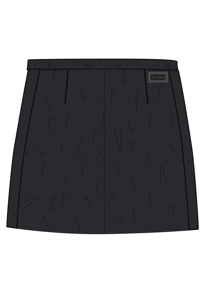 ALP-N-ROCK CHLOE A-LINE SKIRT (19/20) BLACK