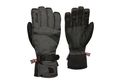 KOMBI KOMBI THE FREERIDER MENS GLOVE (19/20) 4346 BLACK CROSSHATCH