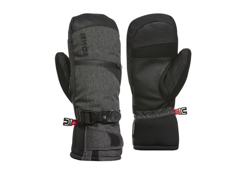KOMBI KOMBI THE FREERIDER MENS MITT (19/20) 4346 BLACK CROSSHATCH