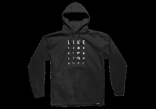 LINE LINE BLEND HOODIE BLACK (19/20) BLACK